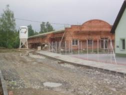Novostavba výrobní haly pro výrobu autosoučástek