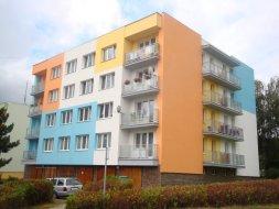 Milevsko: zateplení bytového domu č.p. 1204