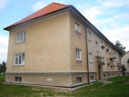 Milevsko: Stavební úpravy bytového domu č.p. 808