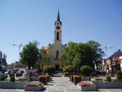 Milevsko: Oprava fasády na kostele Sv. Bartoloměje na náměstí E. Beneše