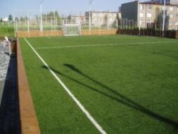 Milevsko: Hřiště na minifotbal s umělou trávou