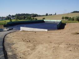 ZD Chyšky: Novostavba hnojiště