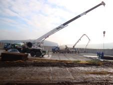 AGRO,  družstvo Záhoří: Novostavba hnojiště
